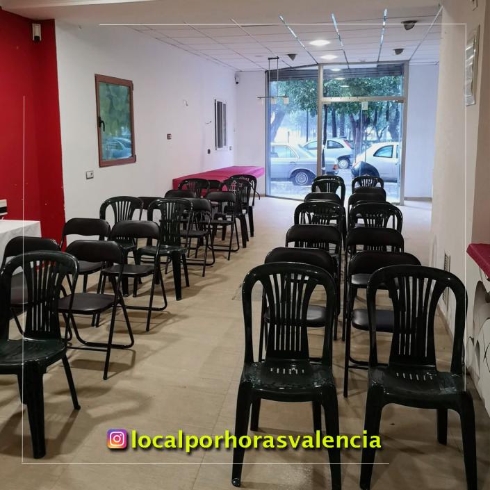 20181121 tu local de alquiler por dias para charlas reuniones y presentaciones en Valencia