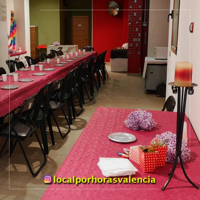 20181121 local para reuniones y fiestas infantiles en Valencia alquiler por horas y dias