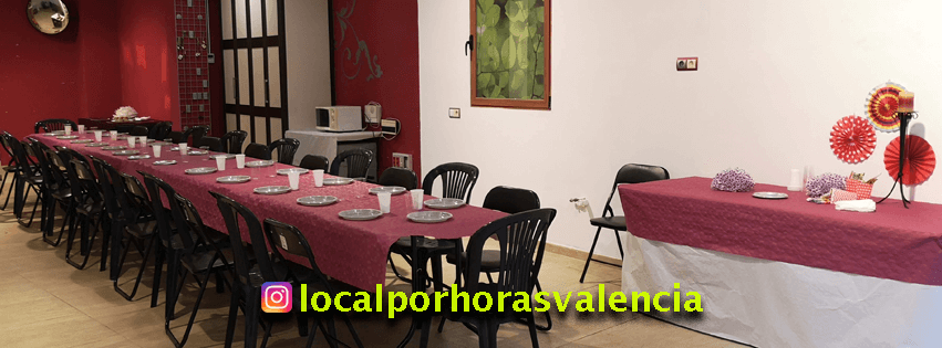Local por horas Valencia para eventos y celebraciones