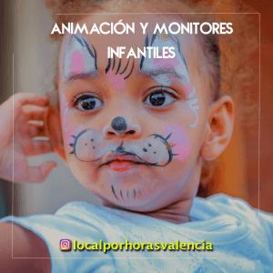 En nuestro local por horas en valencia te ofrecemos animar tus eventos y fiestas infantiles con juegos y pintacaras