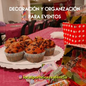 en tu local para eventos en valencia te ofrecemos decorar y organizar tu cumpleaños o comunion